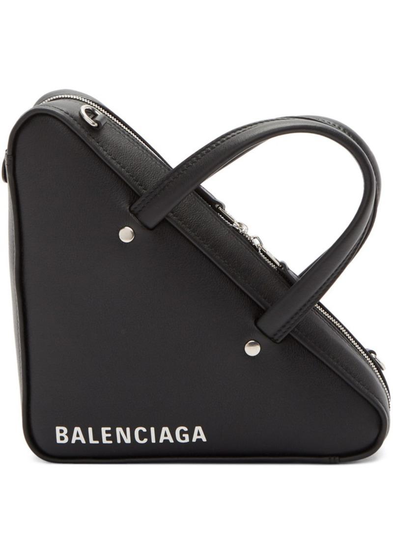 Balenciaga Black XS Triangle Chain Bag