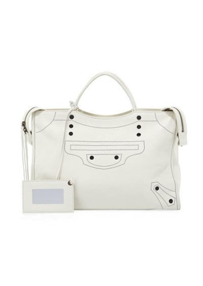 adb768c7662 Balenciaga BlackOut City AJ Shoulder Bag | Handbags