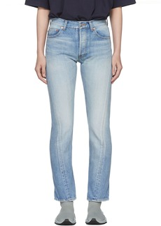 Balenciaga Blue Twisted Leg Jeans
