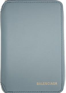 Balenciaga Blue Ville Wallet