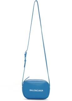 Balenciaga Blue XS Baltimore Everyday Camera Bag