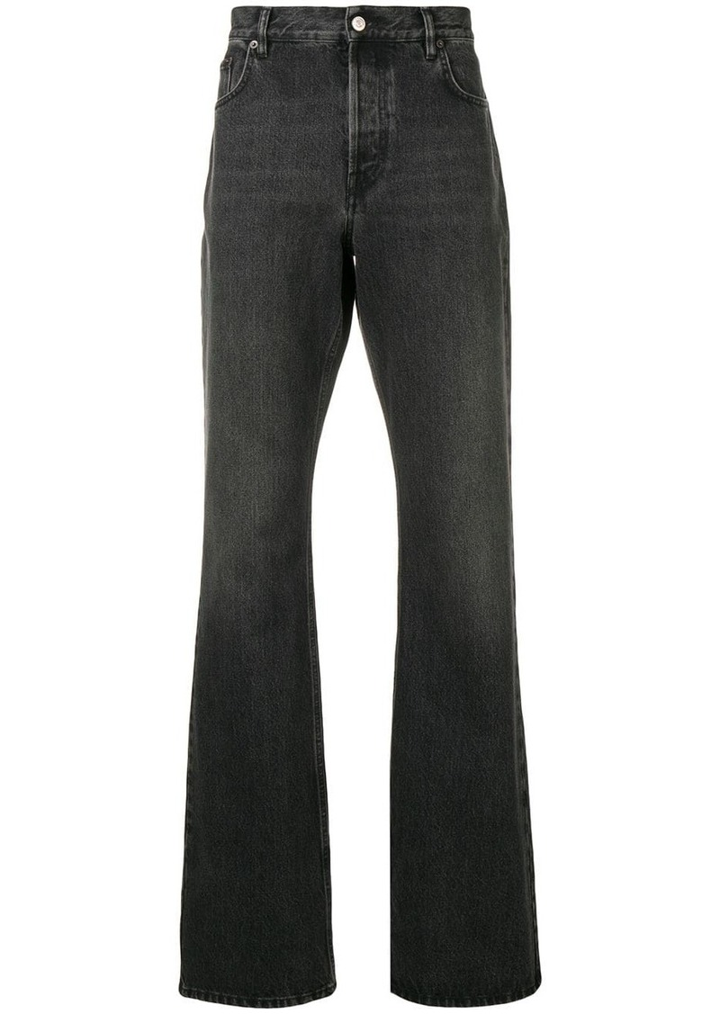 Balenciaga bootcut loose fit jeans