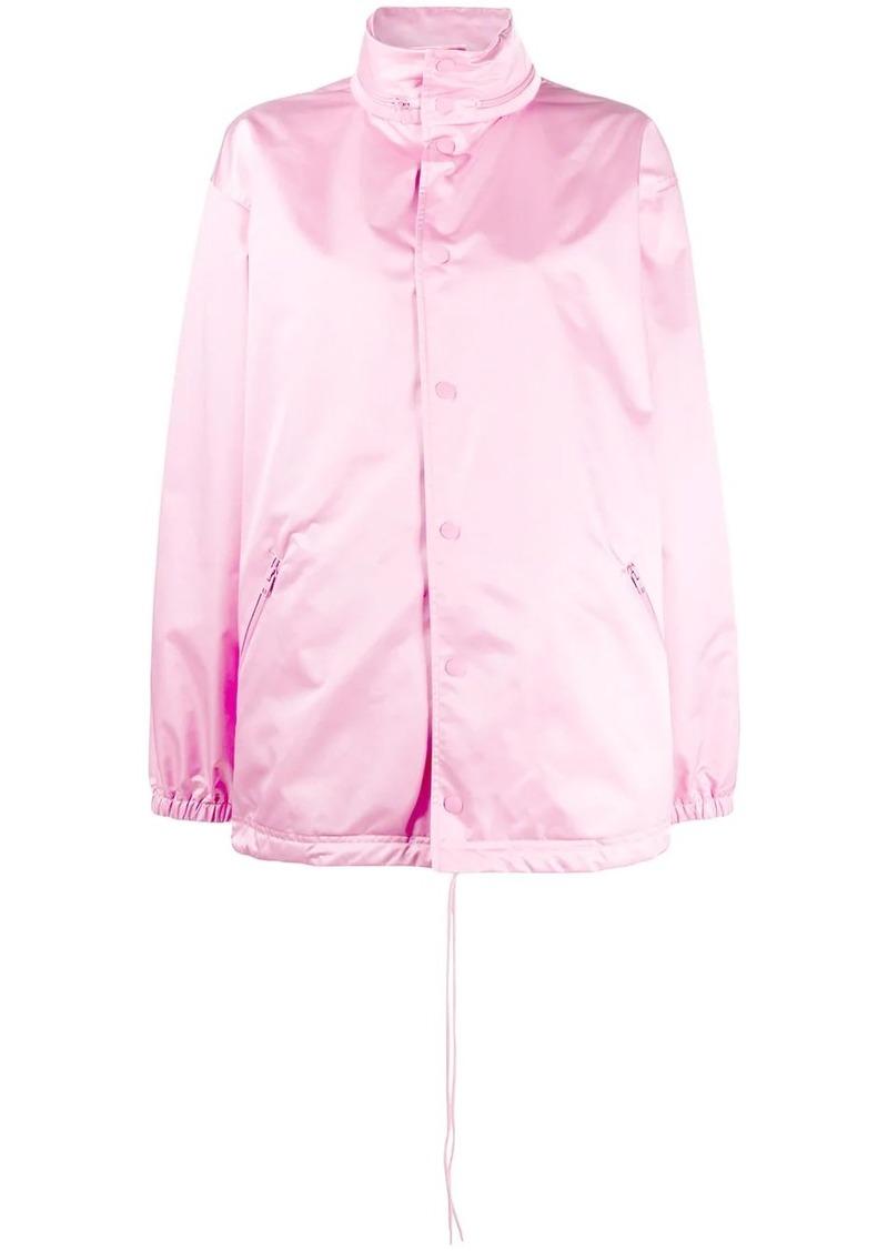 Balenciaga button-up raincoat