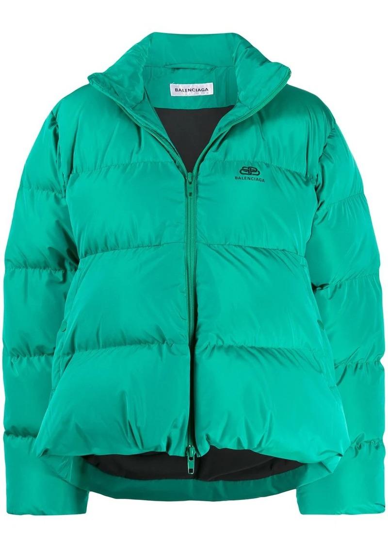 Balenciaga C-Shape puffer jacket