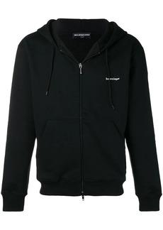 Balenciaga zip-up hoodie