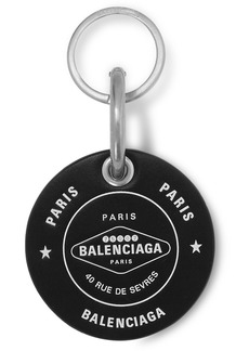 Balenciaga Casino Printed Leather Keychain