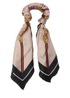 Balenciaga Chain Silk Twill Scarf Bracelet