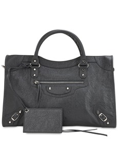 Balenciaga Classic City Leather Top Handle Bag