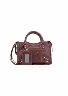 Balenciaga Classic City Mini Leather Satchel Bag
