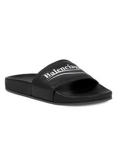 Balenciaga Classic Leather Slides
