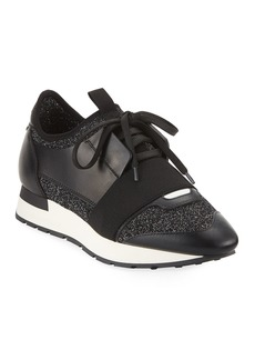 Balenciaga Classic Stretch-Leather Sneakers
