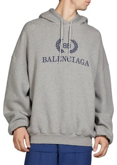 Balenciaga Cotton Logo Hoodie