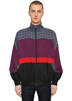 Balenciaga Cotton Poplin Zip-up Shirt Jacket