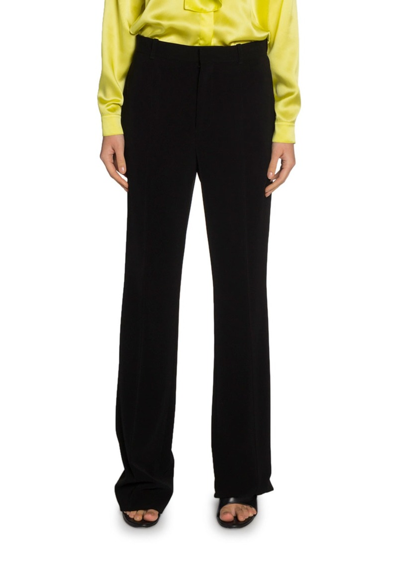 Balenciaga Crepe Twill Tailored Pants