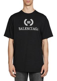 Balenciaga Crest Logo T-Shirt