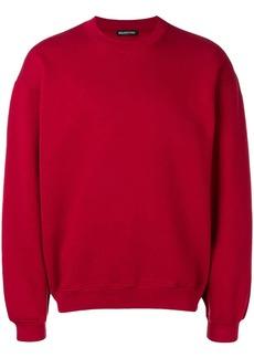 Balenciaga back logo sweatshirt