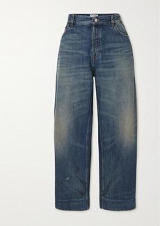 Balenciaga Cropped High-rise Jeans