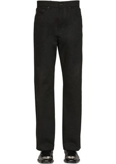 Balenciaga Cropped Organic Japanese Denim Trousers
