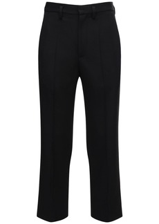 Balenciaga Cropped Wool Pants