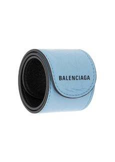 Balenciaga Cycle logo bracelet