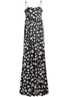 Balenciaga Daisy Jacquard Silk Gown