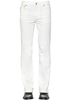 Balenciaga Distressed Slim Fit Stretch Pants