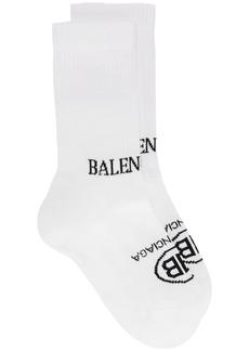 Balenciaga Double Logo Socks