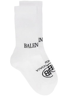 Balenciaga Double Logo Socks
