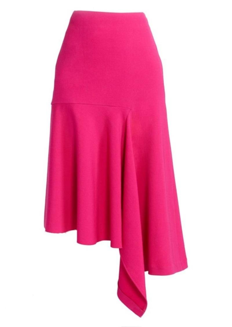 Balenciaga Draped Godet Skirt
