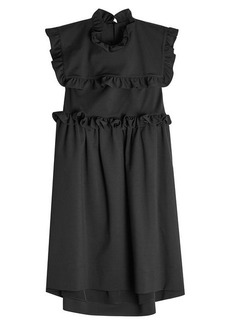 Balenciaga Dress with Ruffles
