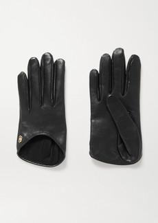 Balenciaga Embellished Leather Gloves
