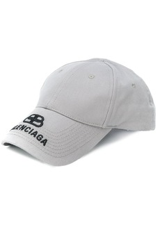 Balenciaga embroidered BB logo cap
