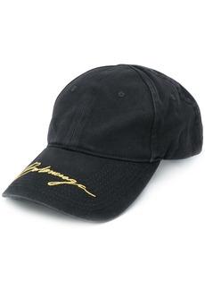 Balenciaga embroidered signature baseball cap