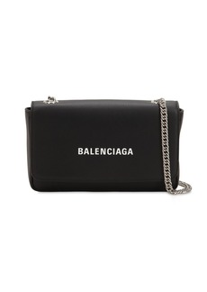 Balenciaga Everyday Chain Leather Shoulder Bag
