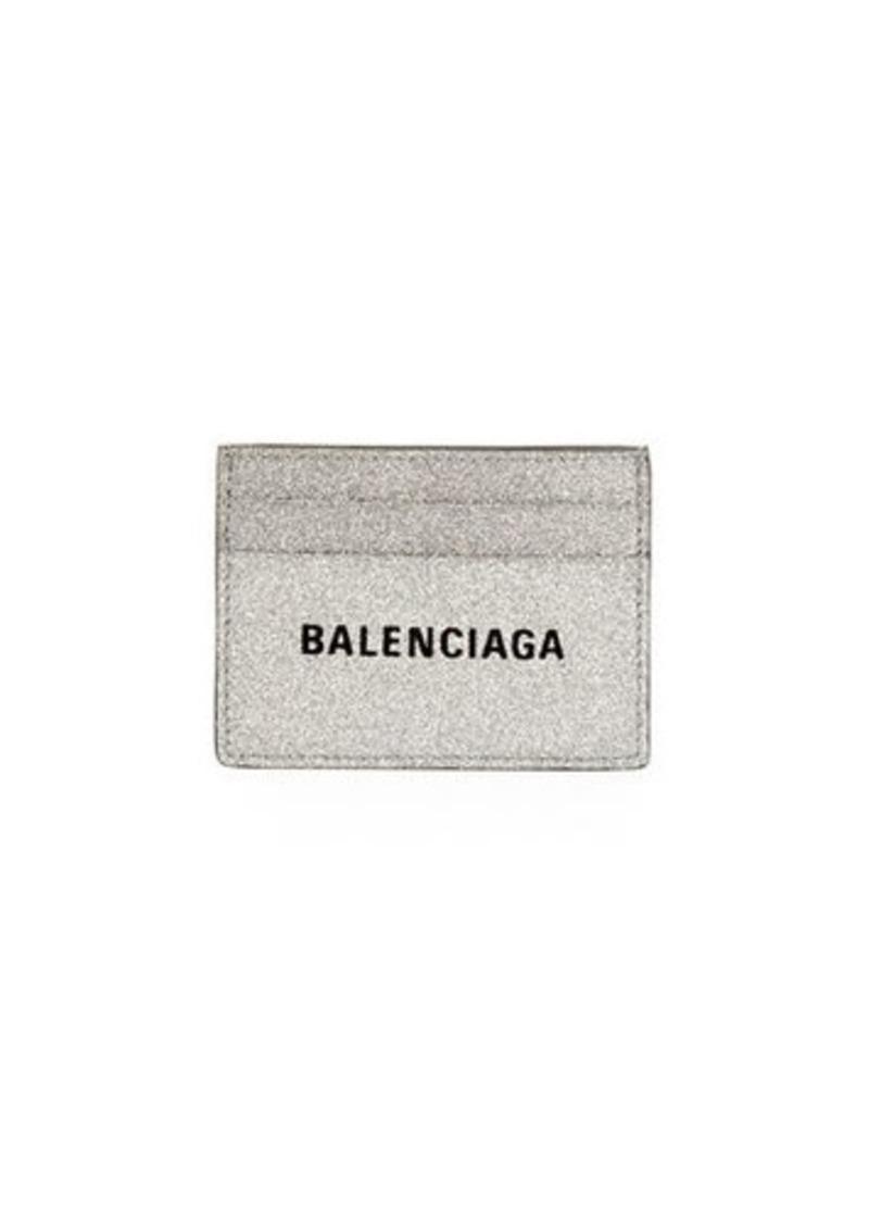 Balenciaga Everyday Glitter Multi Card Case