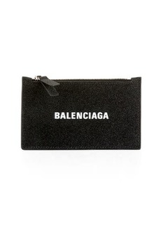 Balenciaga Everyday Glitter Multi Card Case