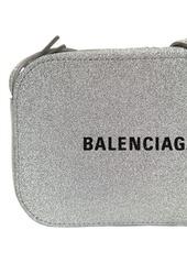Balenciaga Everyday Glittered Leather Camera Bag