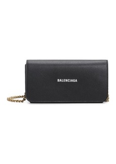Balenciaga Everyday Leather Wallet-On-Chain