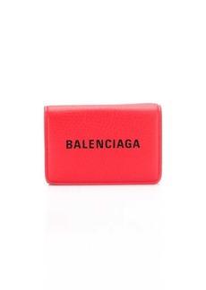 Balenciaga Everyday logo mini wallet