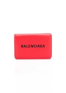 Balenciaga Everyday logo mini wallet