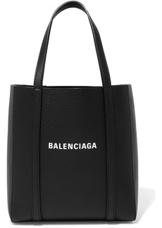 Balenciaga Everyday Mini Printed Textured-leather Tote