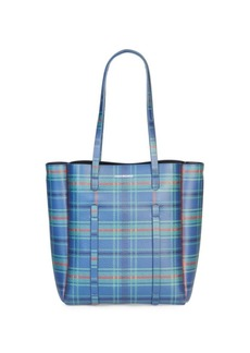 Balenciaga Plaid Everyday Tote
