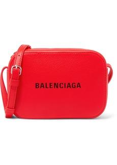 Balenciaga Everyday Xs Aj Printed Textured-leather Camera Bag