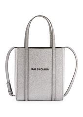 Balenciaga Everyday XXS Glittered Calfskin Tote Bag