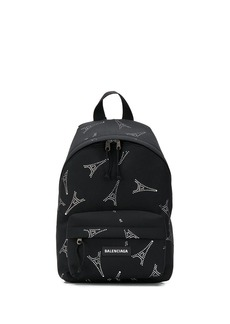 Balenciaga Explorer crystal-embellished backpack