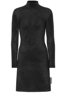 Balenciaga Fleece minidress