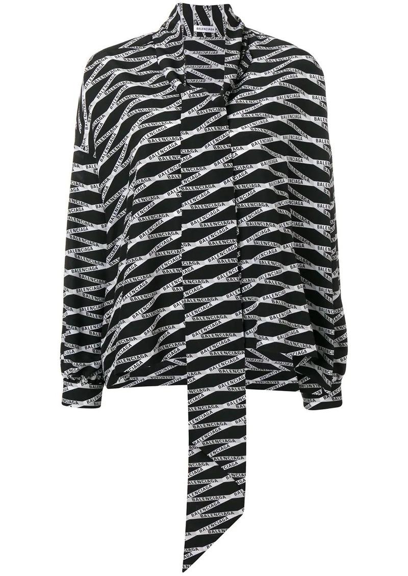 Balenciaga Fluid Vareuse blouse