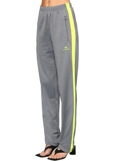 Balenciaga Fluo Side Band Jersey Track Pants