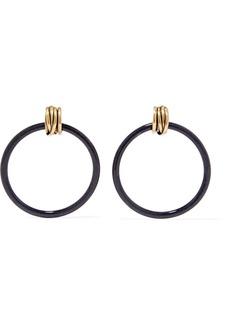 Balenciaga Gold-tone And Resin Earrings