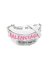 Balenciaga graphic print belt bag
